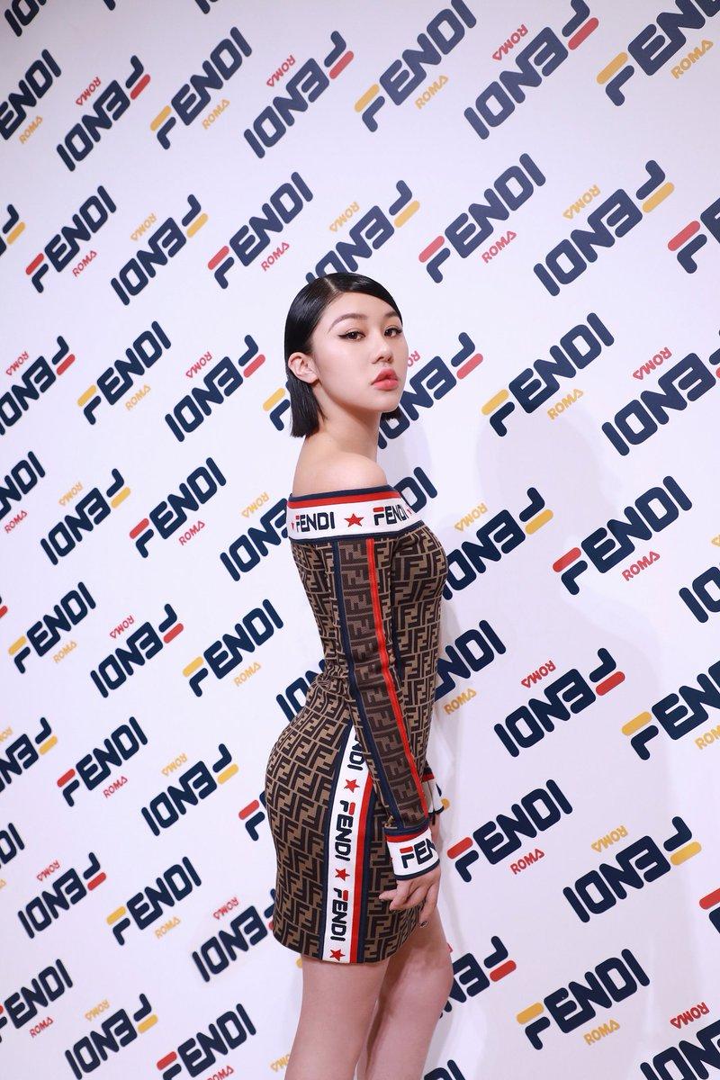 d166c7a857c7 Natasha Lau at the  FendiMania One Night Only in Shanghai. Feat. FENDI