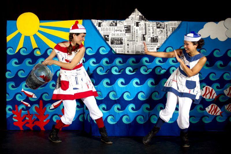 29es Jornades de pau i Solidaritat Contes de la Mediterrània de les germanes Baldufa de Tanaka Teatre al #TeatrePlaza a les 18h Obra de teatre destinada al públic familiar Col·labora: La Xarxa