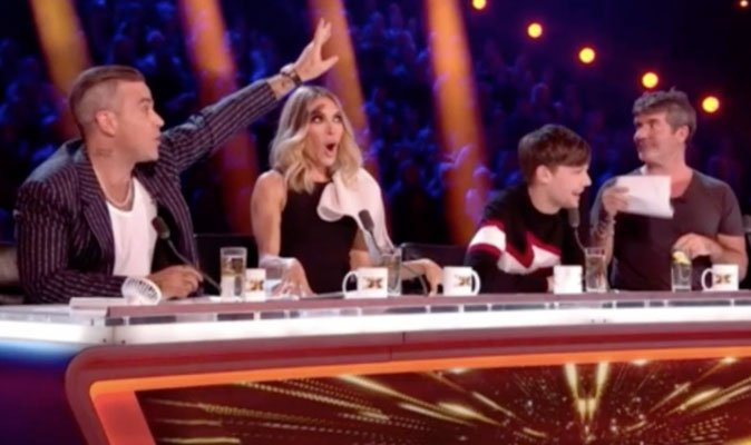Did you hear Ayda Field take a SWIPE during first #XFactor live show? Well, that wasn't the only disruption on the panel  https://t.co/PYtRjIus82