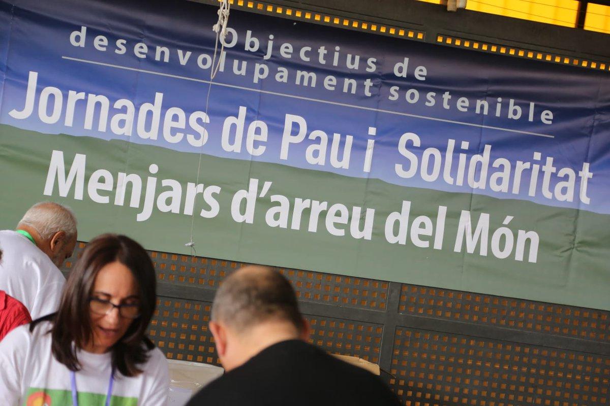 29es Jornades de Pau i Solidaritat a #Castelldefels Menjars d`Arreu del Món