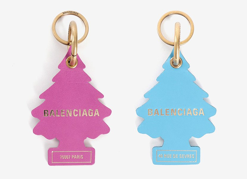 Balenciaga are being sued for copying Little Trees air fresheners: https://t.co/P3vNTeVJJd