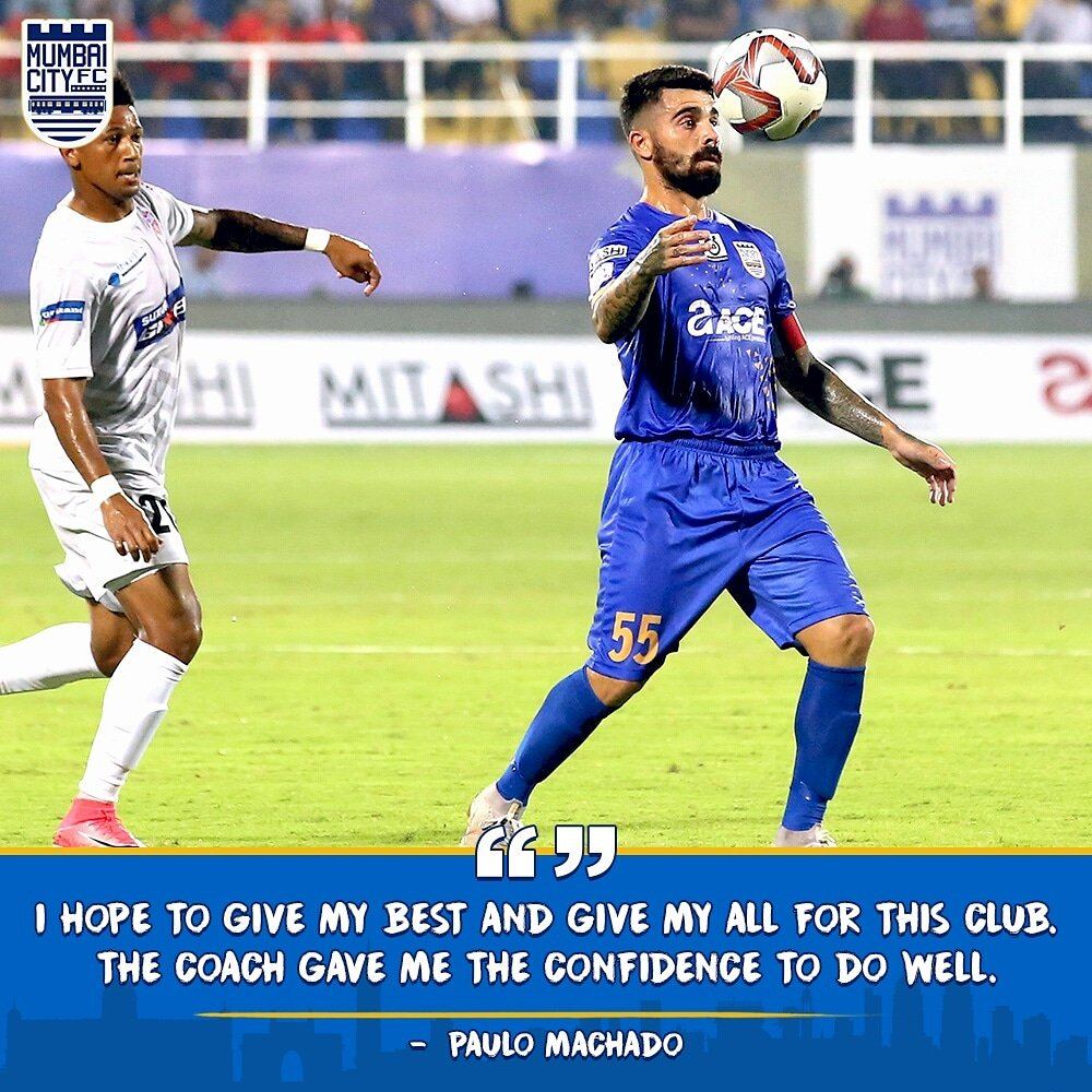 Words from the man who was marshaling our troops in the #MahaDerby! #MUMPUN #ApunKaTeam 🔵