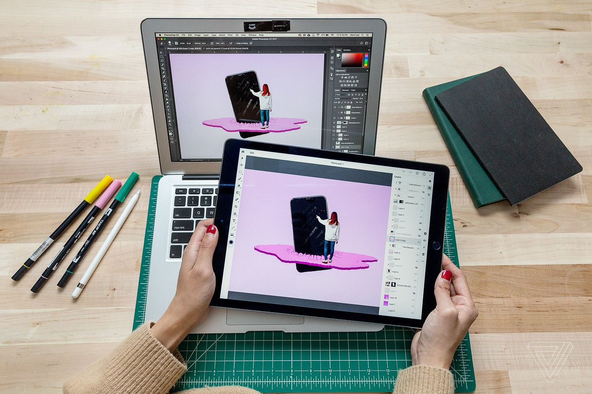 Here's what it's like to use 'real Photoshop' on the iPad https://t.co/5ll8ufBW6g
