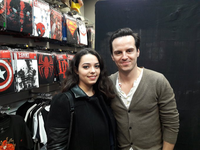 Happy birthday to this incredibly talented actor known as Andrew Scott