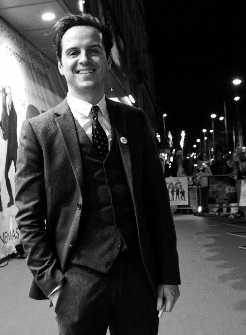 Today is a cute boy\s birthday. Andrew Scott, we love you, stay the same sun and be happy.