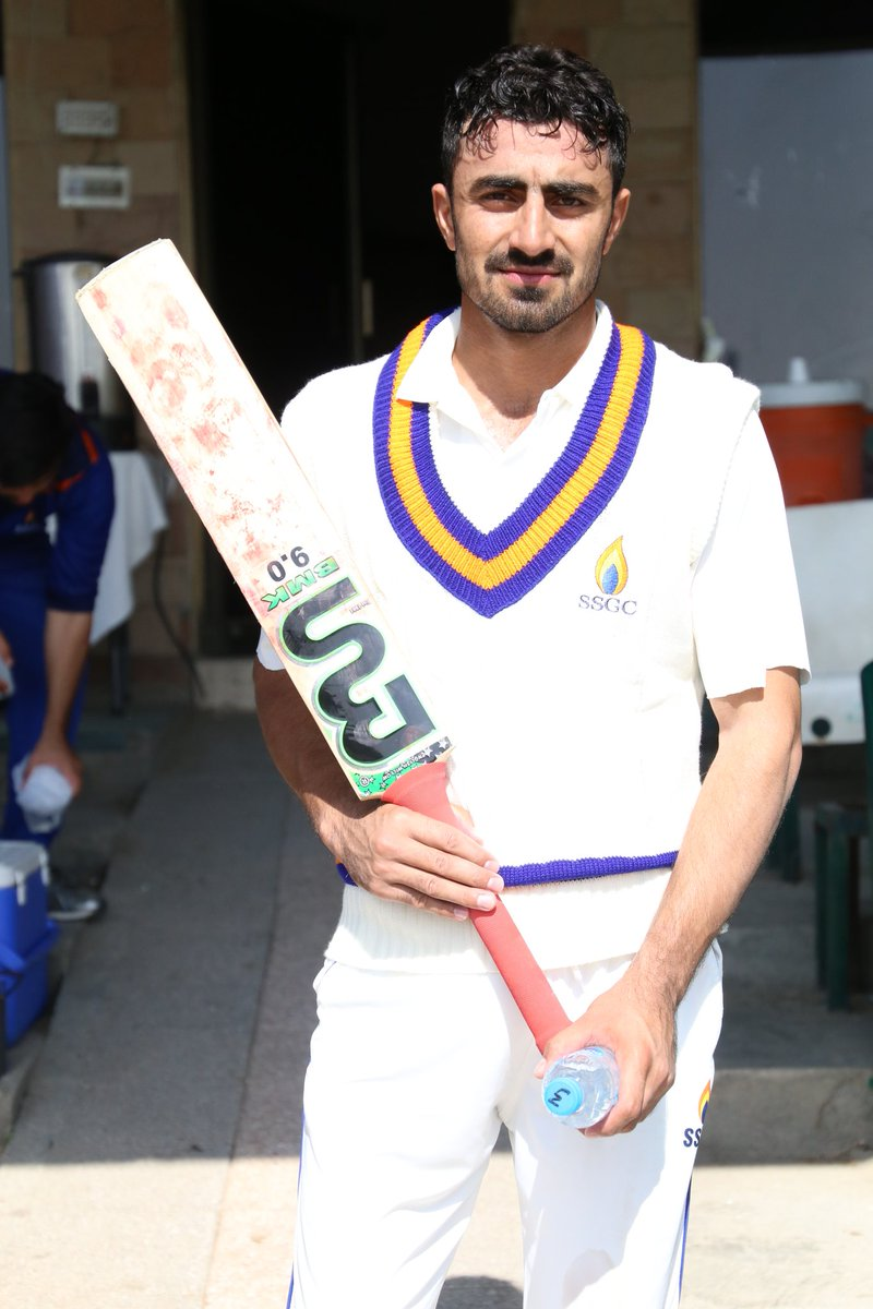 Adil Amin hits double-hundred in the Quaid-e-Azam Trophy