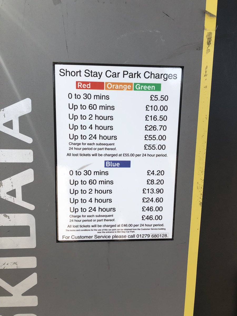 Long Stay Car Park Stansted >> London Stansted Airport On Twitter The Car Park Prices