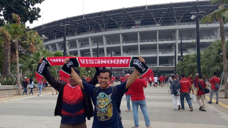 Jelang Qatar vs Indonesia, GBK Mulai Memerah https://t.co/dE0cCjOLUa via @detiksport https://t.co/RrzcLsz03o