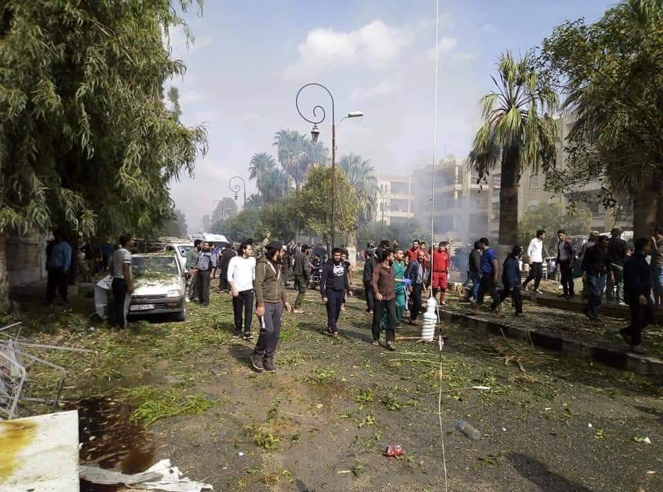 3 killed, including a child and 11 wounded in car bomb explosion in Idlib city
