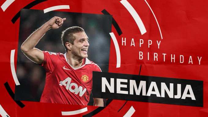 Happy birthday Nemanja Vidic . . .