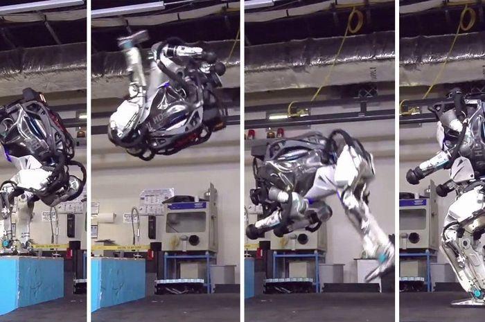 로봇은 두 발로 눈길, 계단, 울퉁불퉁한 산길을 능숙하게 걷고 뛰며 운동능력을 진화시키고 있다 https://t.co/JnUFqyb6cU