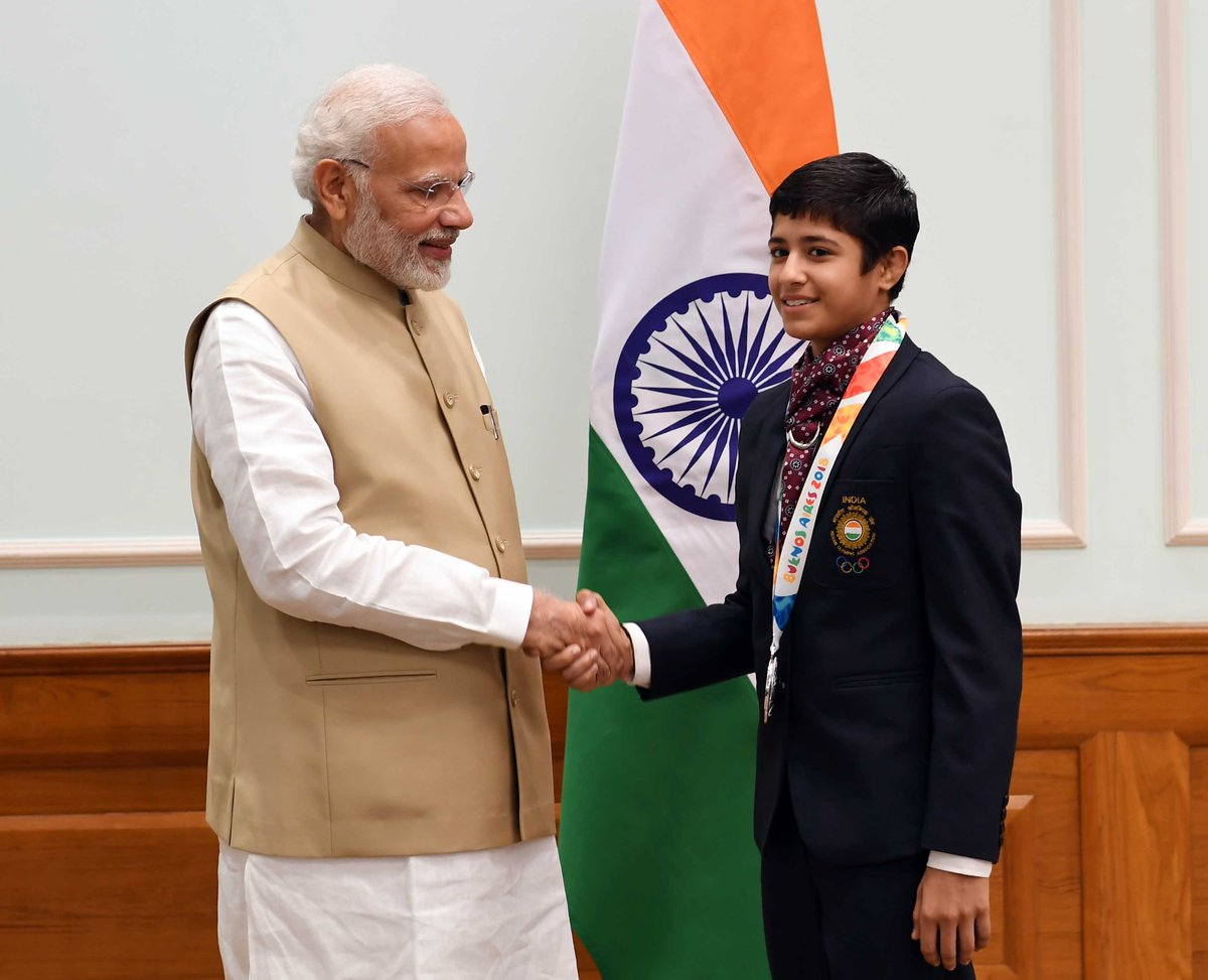 India is proud of Simran, who won a Silver medal in the 43kg Women's Freestyle Wrestling at the 2018 Youth Olympic Games. Many congratulations to her for achieving this feat. Simran has also won medals in various global championships in the past few years.