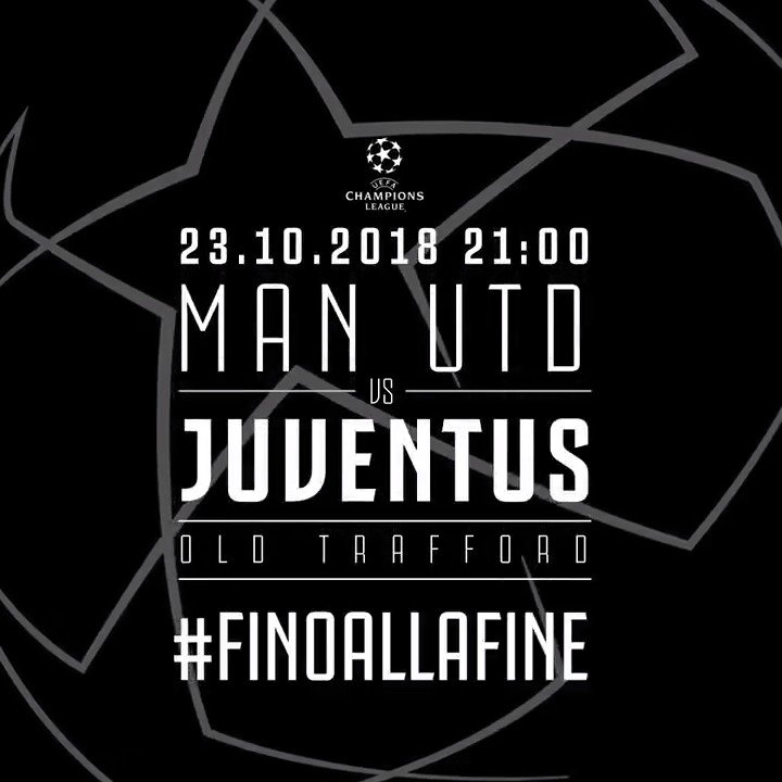 #MUFCJuve: Champs, Chapters... @ChampionsLeague! #UCL Manca poco, bianconeri! ⚫️⚪️ https://t.co/uJSUnL97LW