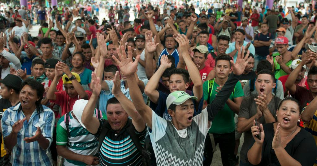 Migrant caravan swells to 5,000 in Mexico, with members vowing to reach U.S. https://t.co/weF9MExPmZ