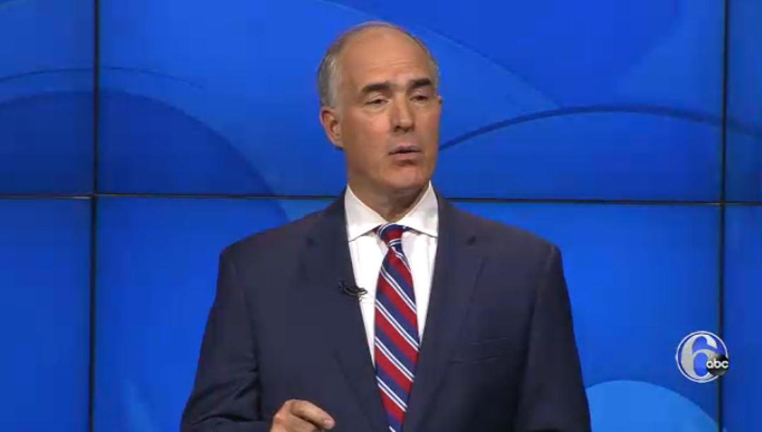 Sen. Bob Casey: This [tax] bill was a corporate special interest giveaway... and it has not done anything to lift wages in America, and that's what should have happened.' Pa. Senate Debate now on 6abc and https://t.co/8enw45Pl9m