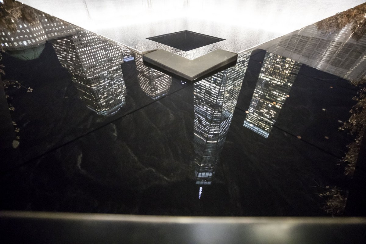 Reflecting on our past and future. #911Memorial