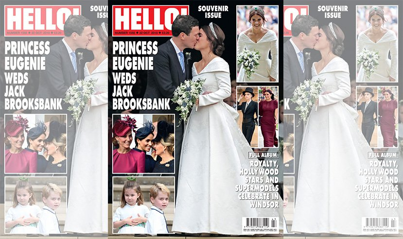 It's your last chance to buy our special souvenir royal wedding issue of HELLO!, with all of the details from Princess Eugenie and Jack Brooksbank's wedding. On sale now. ♥️👑