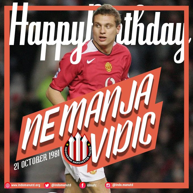 Happy 37th birthday Nemanja Vidic!  . He comes from Serbia..