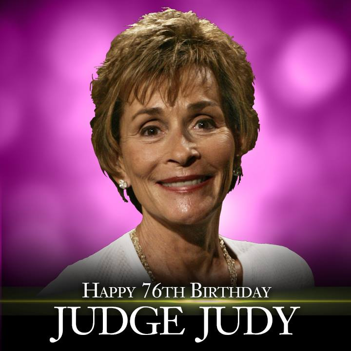 Happy Birthday to Brooklyn's own Judge Judy!  #court #legend #love #legal #celebrate