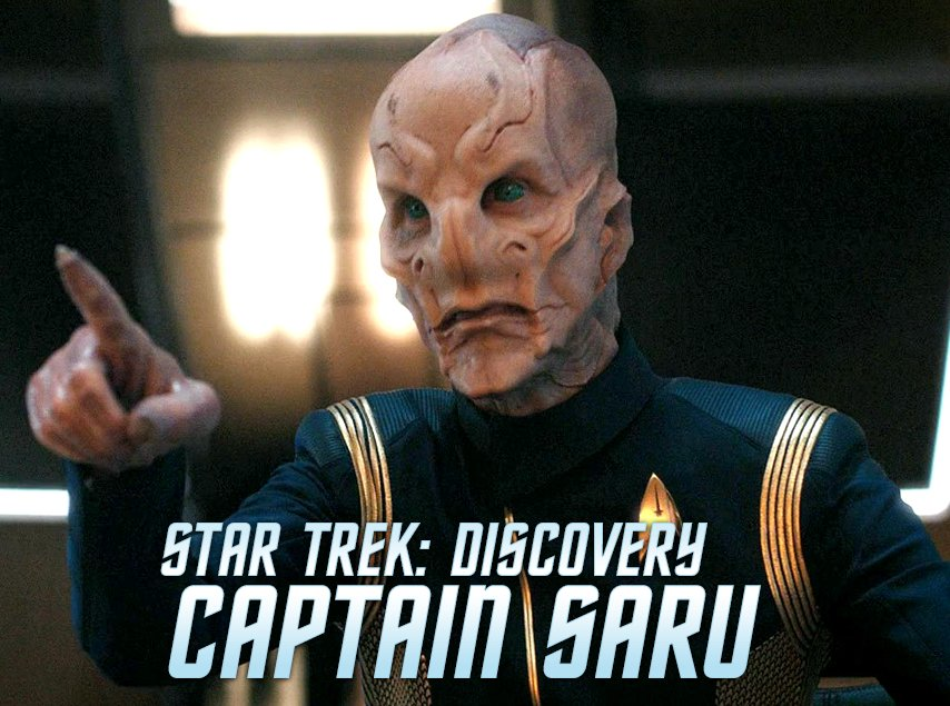 Comic news out of @StarTrek_DST: February 2019 brings a new #StarTrekDiscovery one-shot release from @IDWPublishing: CAPTAIN SARU Story: Kirsten Beyer and @mikecomix; Art: Angel Hernandez; Cover: @paulshipper