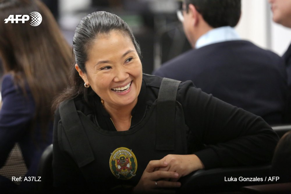 Justicia peruana analiza pedido de prisión preventiva para Keiko Fujimori #AFP  https://t.co/HRThkDehI0