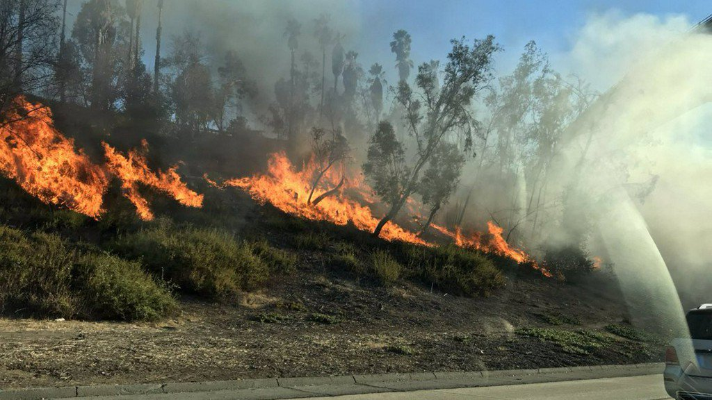 Firefighters Make Quick Work of Brush Fire Along the 210 Freeway in Pasadena https://t.co/BrVs4QEi6e