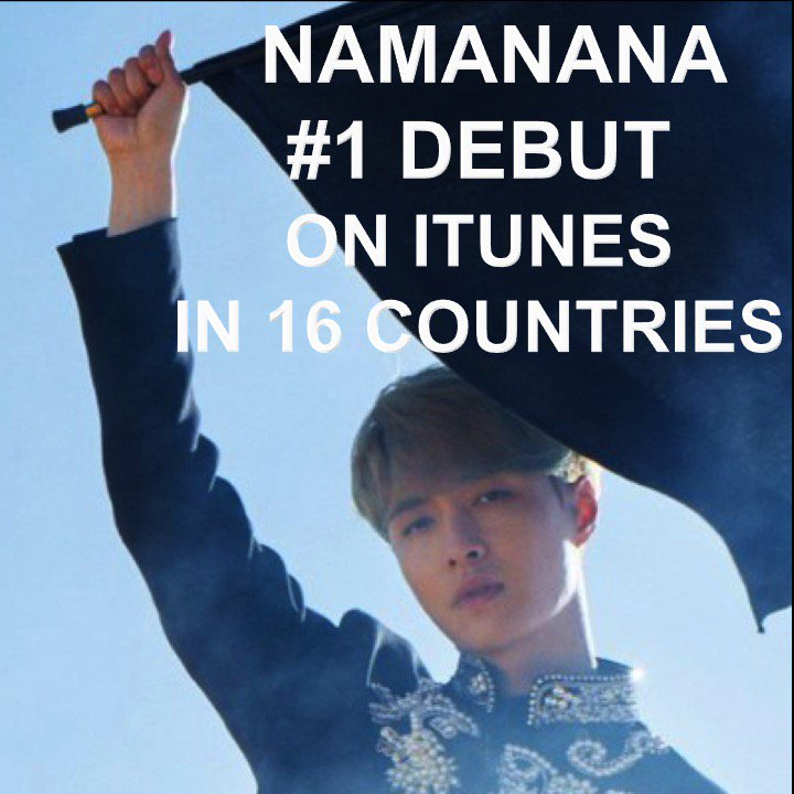 #EXO's #Lay Tops iTunes Charts Around The World With Solo Album #NAMANANA!👏1⃣💿🎵🇨🇴🇪🇪🇬🇷🇮🇩🇰🇿🇲🇴🇲🇾🇲🇳🇵🇪🇵🇭🇷🇺🇸🇦🇸🇬🇹🇼🇹🇭🇦🇪👨‍🎤🌟🤩 https://t.co/8QySuYiyEx