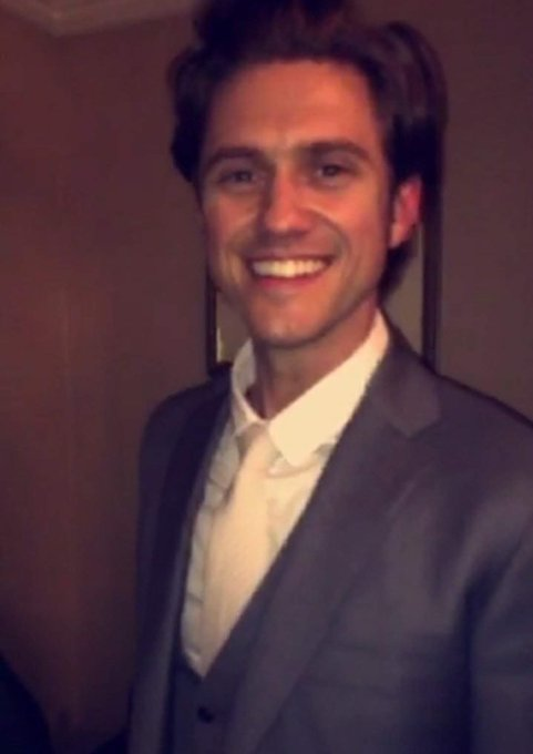 Happy birthday to the talented and wonderful aaron tveit!!! I hope your day is amazing