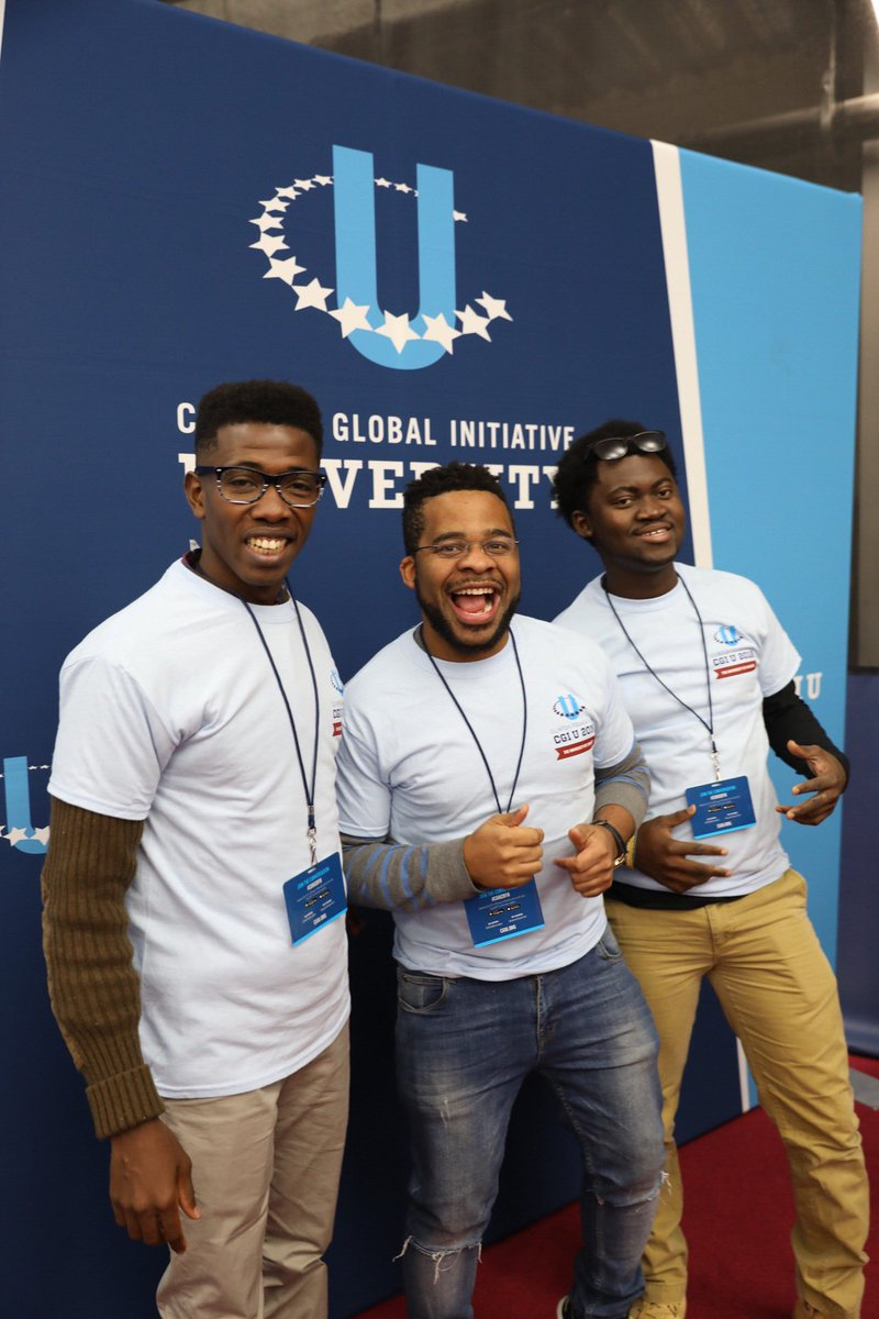 We're getting ready for a #DayofAction in Chicago this morning! Hundreds of students will lead service projects giving back to our incredible host community. #CGIU2018