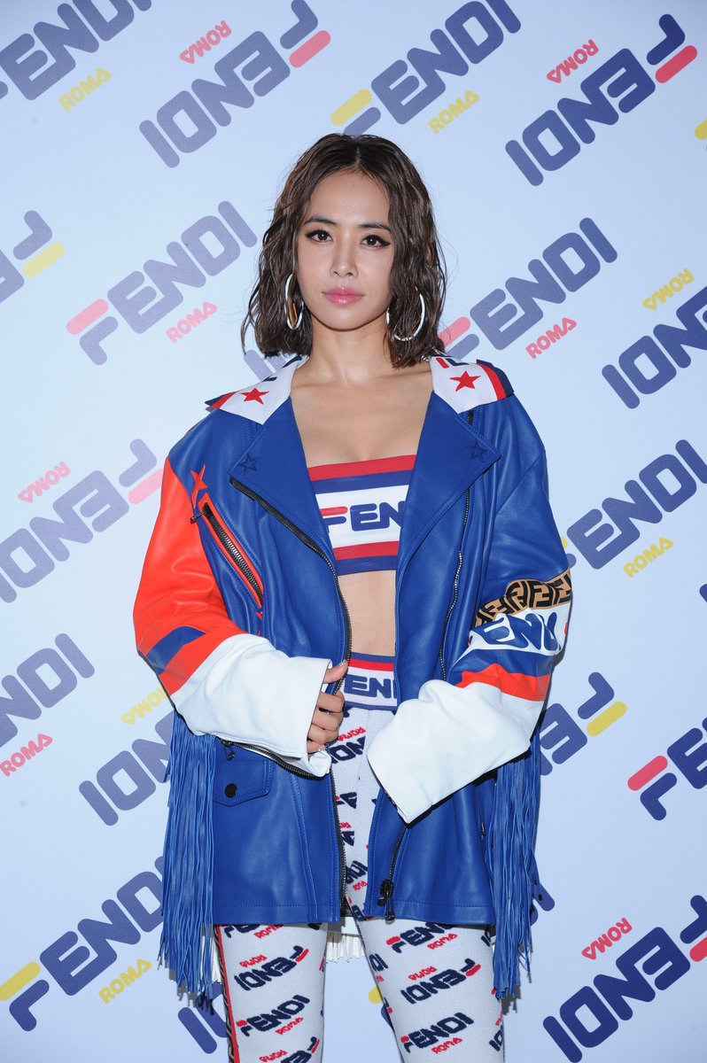 fc1ee1c37703 Jolin Tsai at the  FendiMania One Night Only in Hong Kong. Feat. FENDI