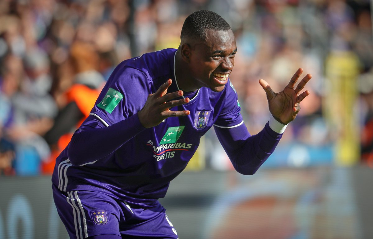 🔥 Hat-trick for Nany Dimata as Anderlecht warm up for the #UEL by beating Cercle Brugge 4-2. 🔥
