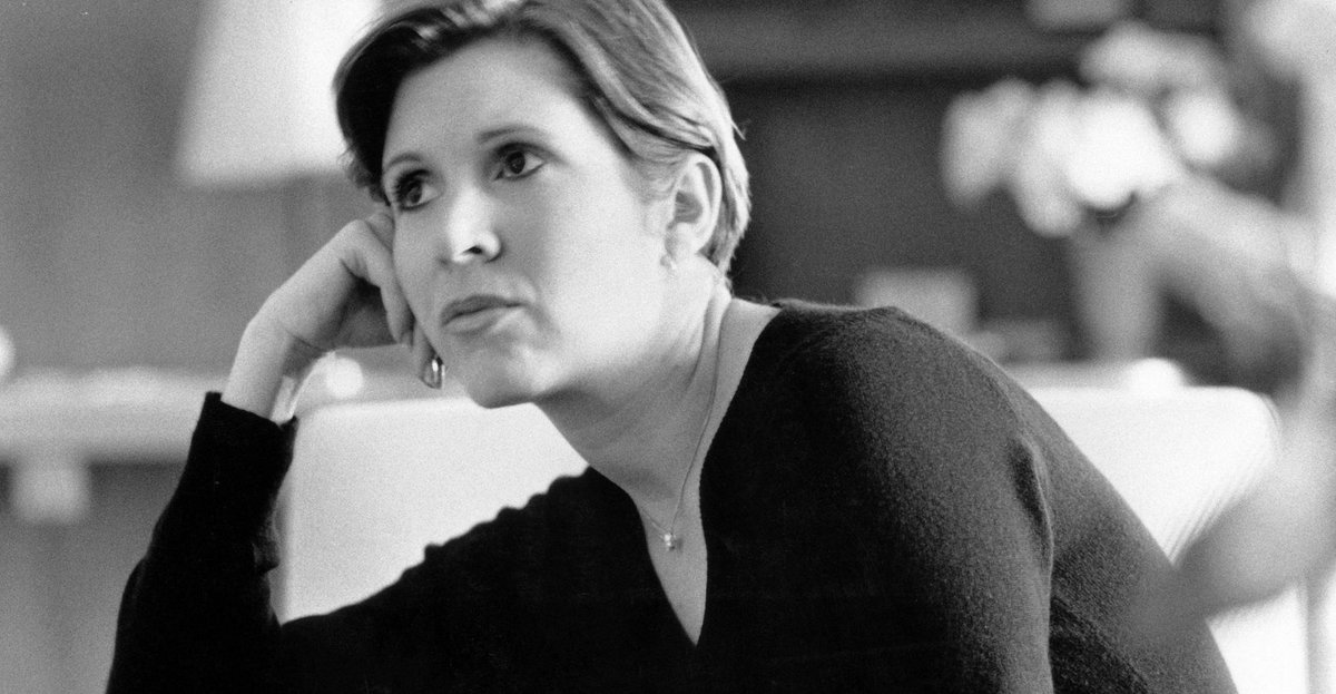 Carrie Fisher was born 62 years ago today. Look back at 37 great quotes from the actress and author https://t.co/vVxcvbJAtP
