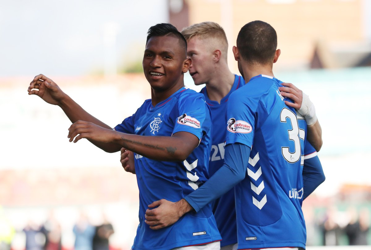 Rangers have scored at least 3⃣ goals in four of their last five league games. 👍 #UEL