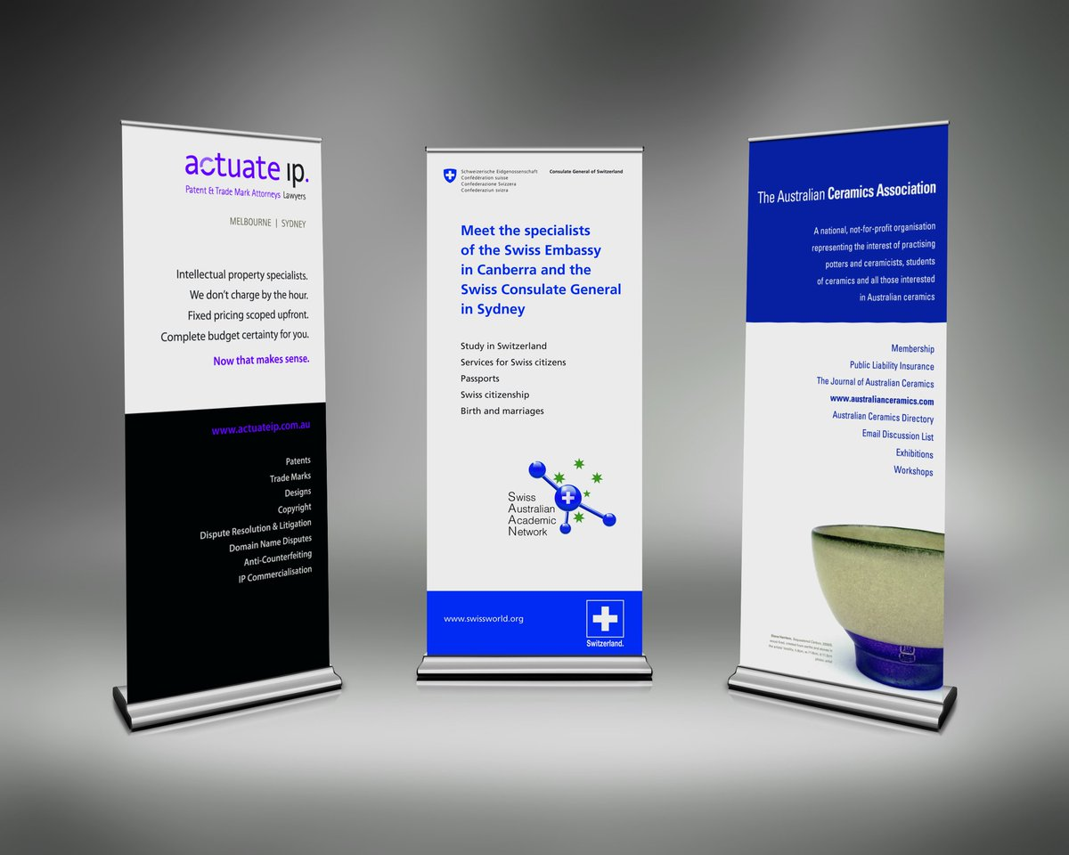 Professional Design Banners 100 Year Banners