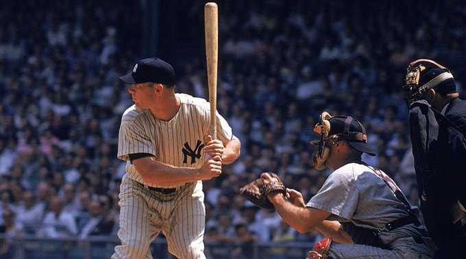 Happy Birthday, Mickey Mantle. Born: October 20, 1931, Spavinaw, Oklahoma.