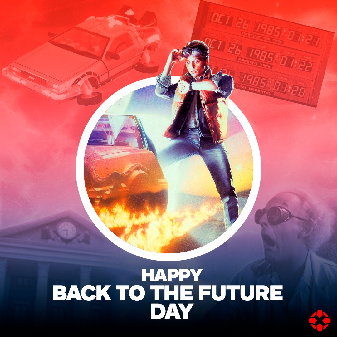 Marty McFly went Back to the Future on this day in 1985.