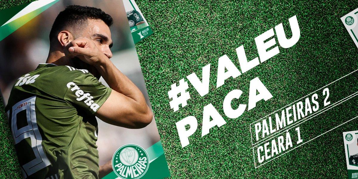 O Porcoembu também é a nossa casa! Soma mais três pontos aí e #ValeuPaca 👊  Garanta o nosso manto ➤ https://t.co/b5LnxTMhCQ  #AvantiPalestra #SabeSerBrasileiro #PALxCEA