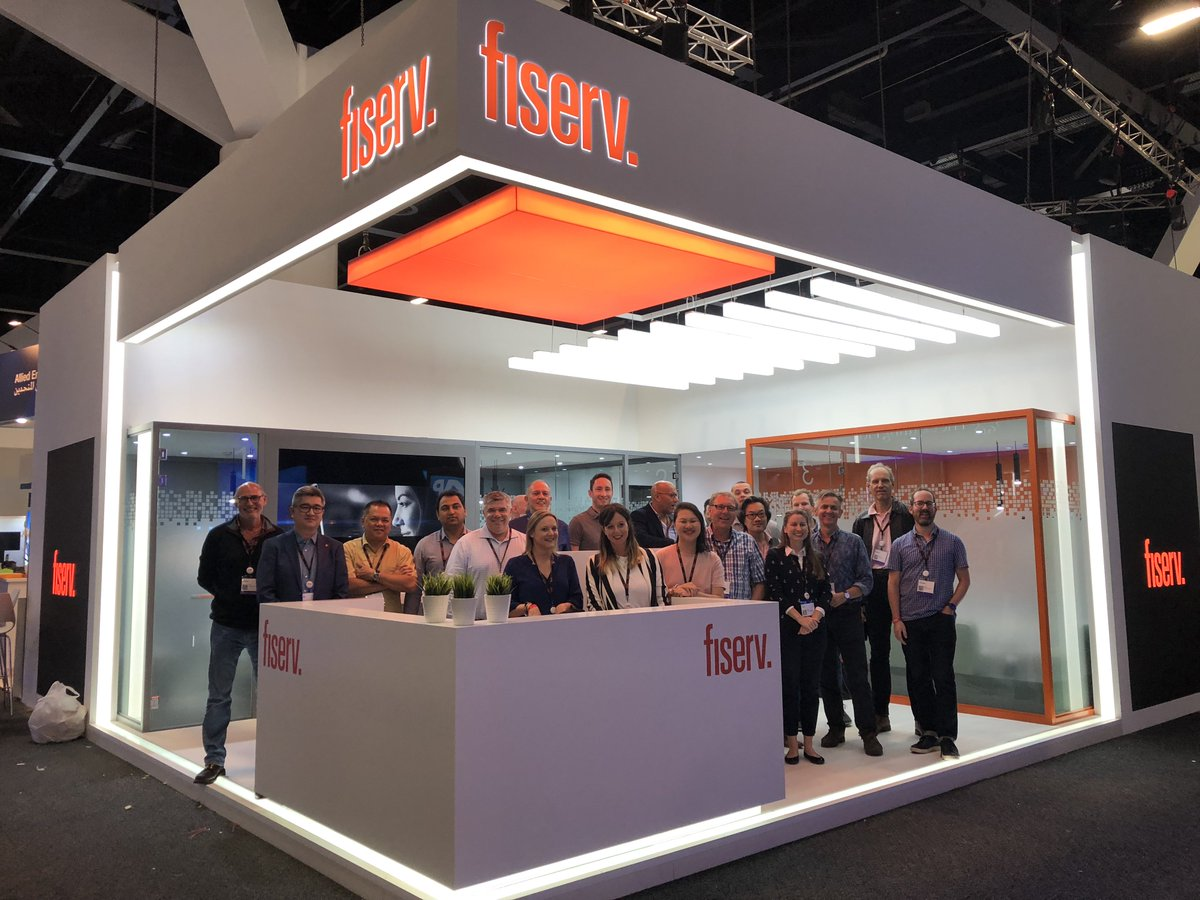 The Fiserv team is all ready for #Sibos 2018! Come by stand C22 to discuss the latest #fintech innovations.