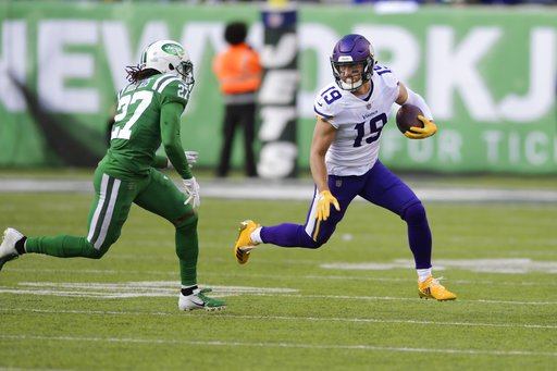 Adam Thielen is the 5th player in NFL history with a streak of 7 straight games with at least 100 receiving yards.   Thielen is one game shy of matching the longest such streak in NFL history, which came in 2012 by Calvin Johnson.