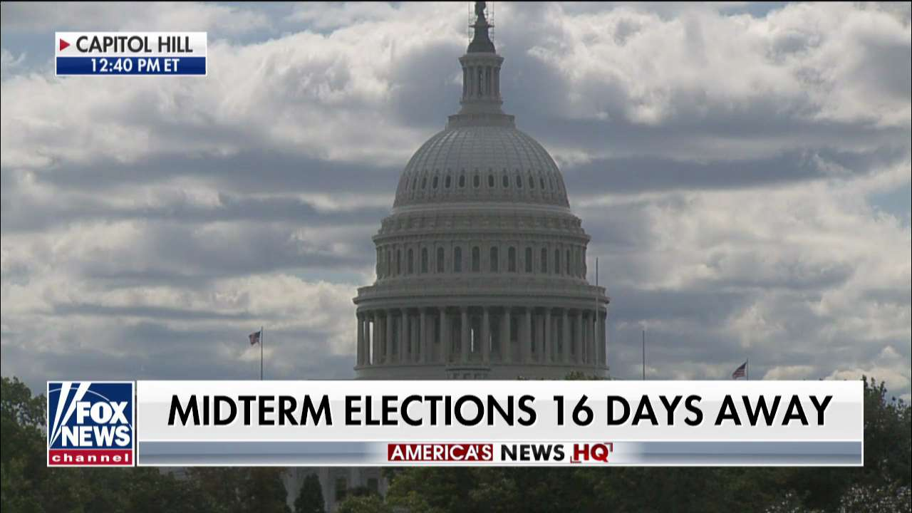 Midterm elections 16 days away https://t.co/iSPHQoeCYR https://t.co/iS8QV5xjES