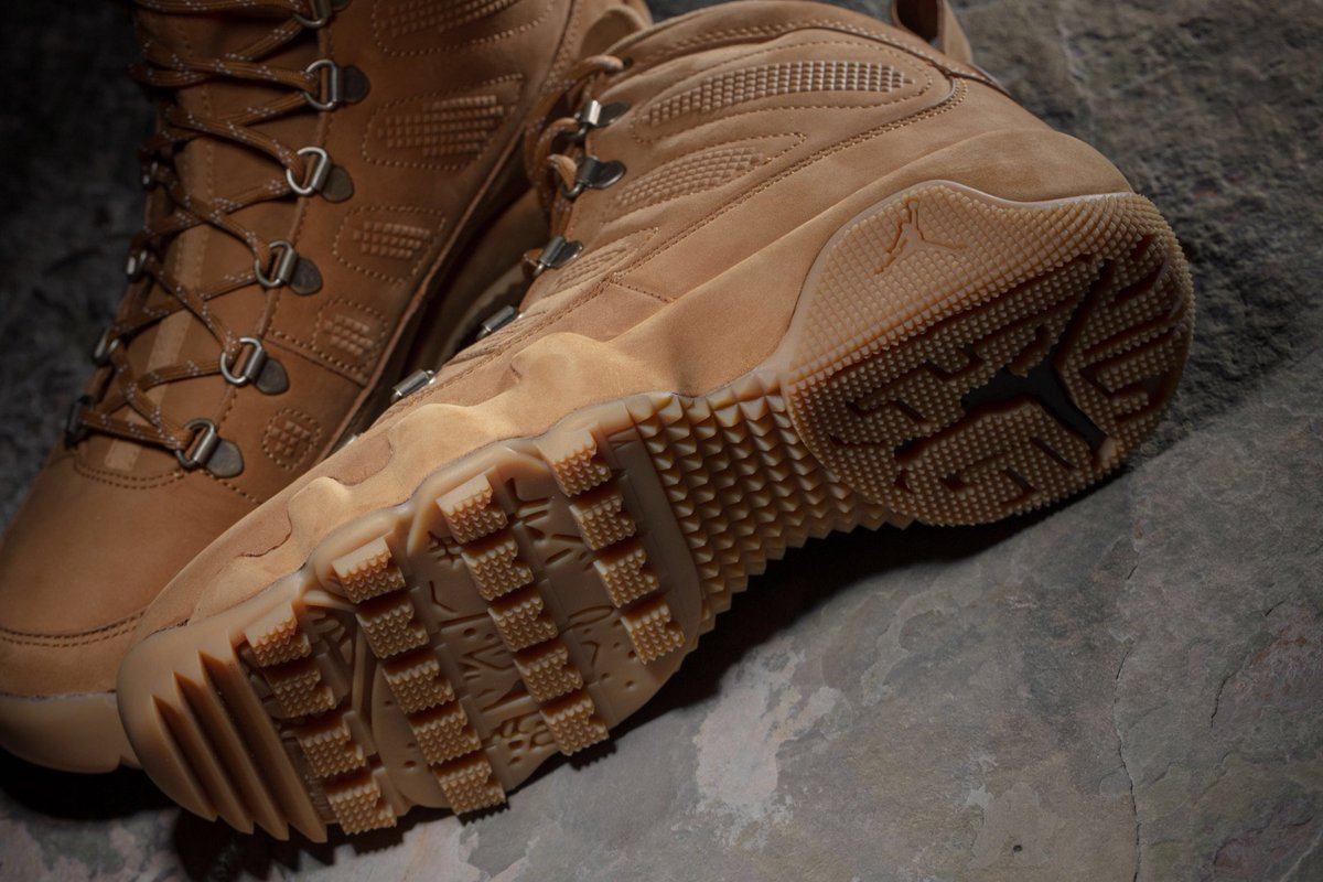 8fc57c9222b ... store concepts on twitter air jordan 9 retro nrg boot wheat is now  available in our