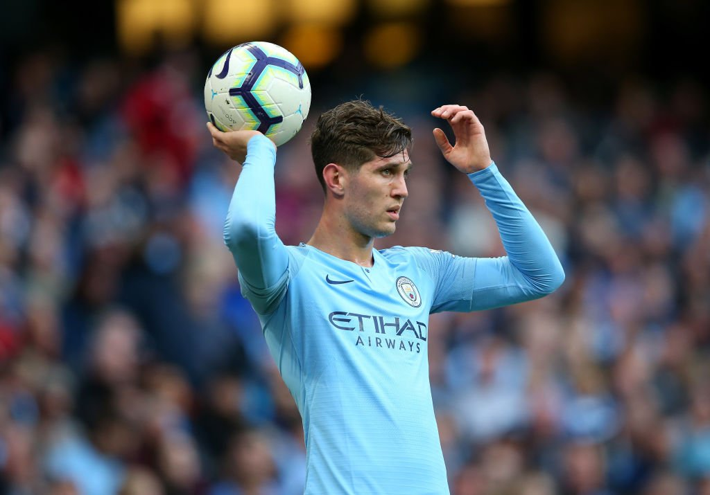 PEP: I would say we have four incredible central defenders. When @Notamendi30 has played, and @VincentKompany and John Stones, it is always a good level. That is a good sign for the team [Stones can't play as an] attacking midfielder, winger, striker… no way!   #mancity