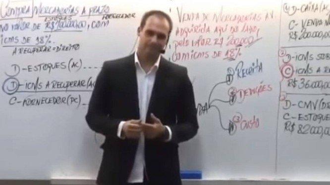 Em vídeo, filho de Bolsonaro diz que 'basta um soldado e um cabo para fechar o STF'. https://t.co/LkmZY4bPdL