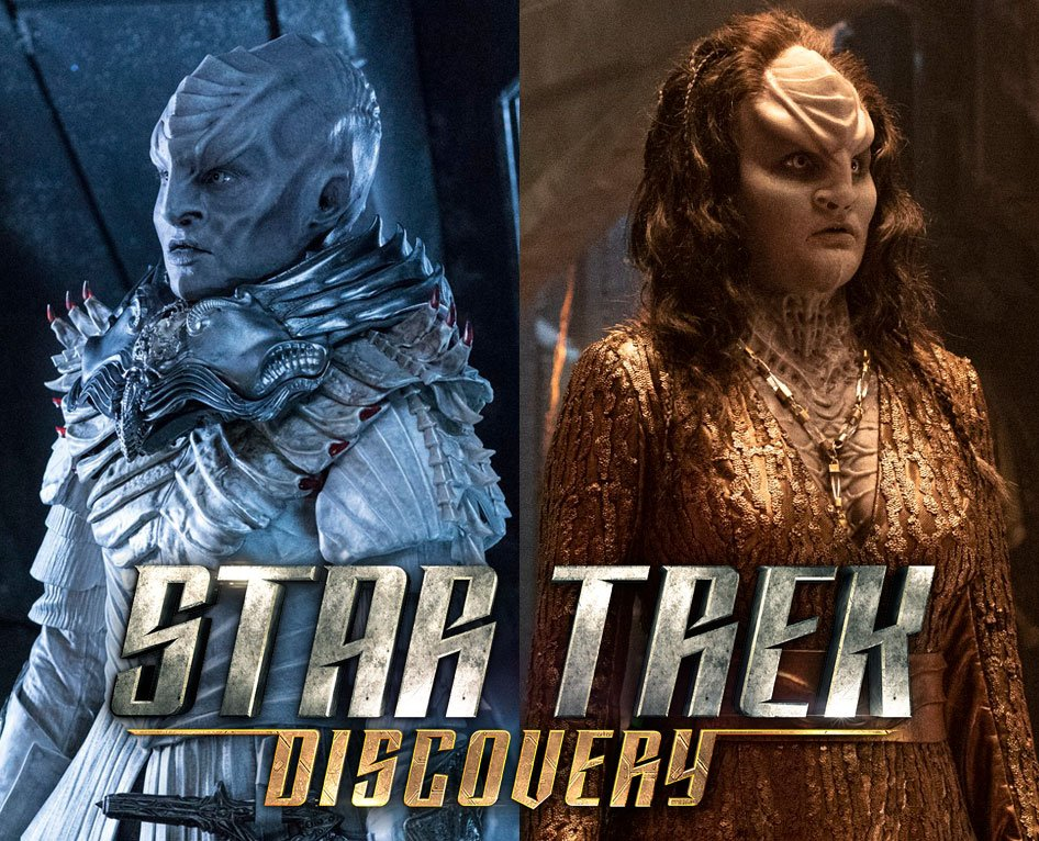 NEW: Get a good look at Chancellor LRells new style coming in #StarTrekDiscovery Season 2! More info: bit.ly/2yuqq51