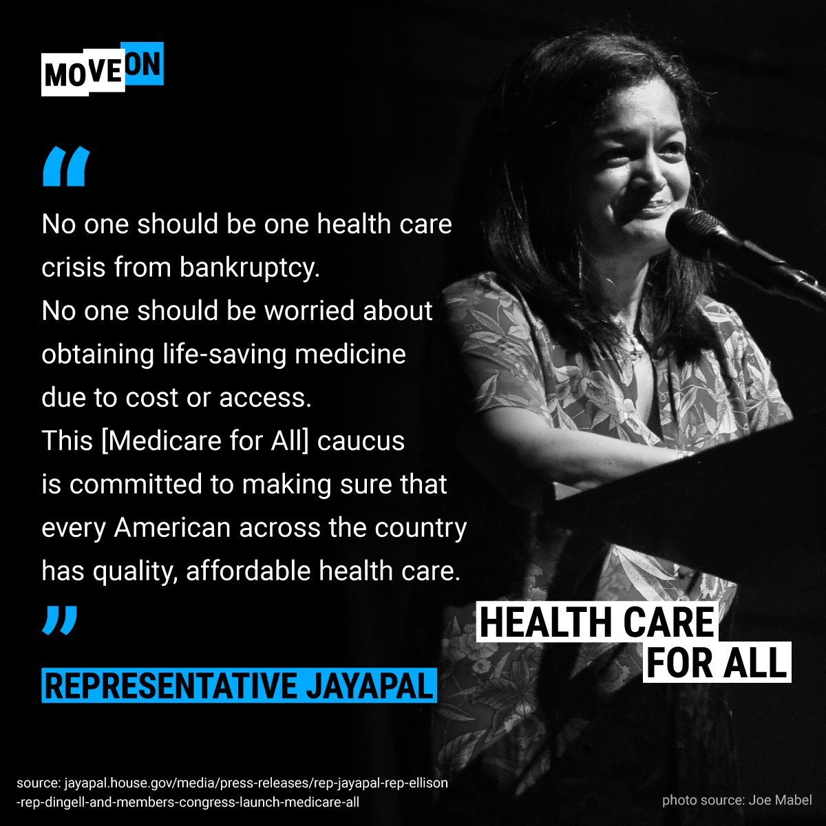 Thank you, @RepJayapal. How do we #ProtectOurCare & health care for the next generation? End  con@GOPtrol of the House on 11/6. Never volunteered before? We'll help you get started: https://t.co/git4PDTH1G