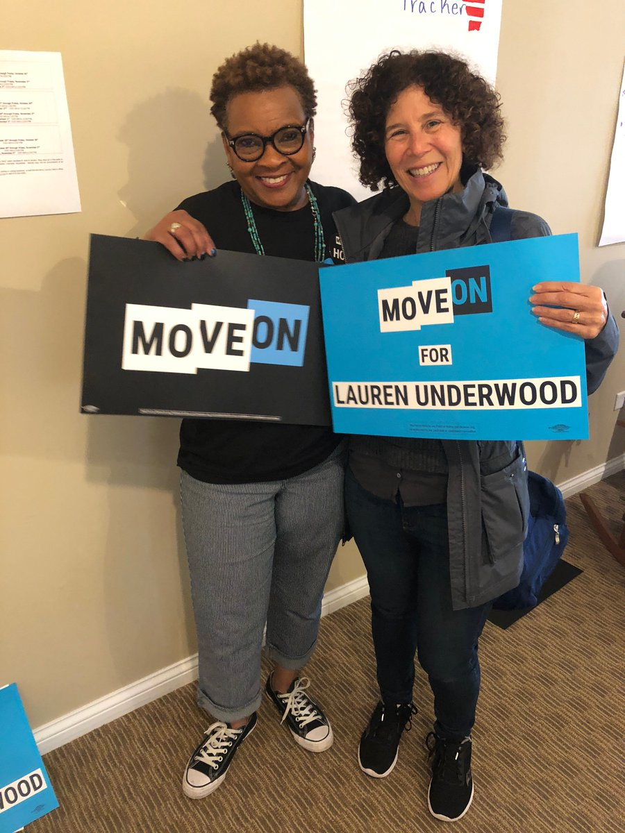 """""""I'm Judy. I live in a solidly blue area. even though I know my elected officials are doing everything I want them to do. That's why I joined this MoveOn's #DailyAction. If I was even able to influence a single voter, I feel like it was a good use of my time.'"""