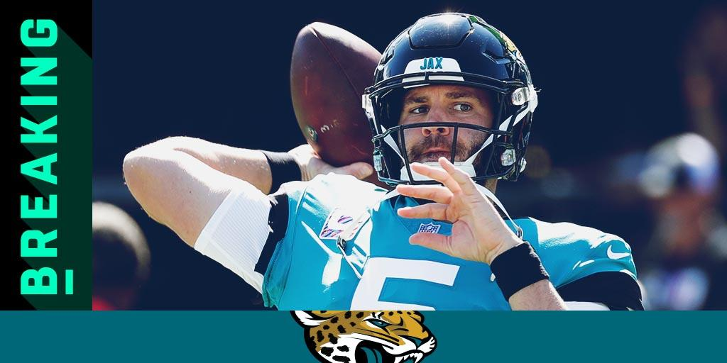 Blake Bortles replaced by Cody Kessler in #HOUvsJAX: https://t.co/zU8qEOm7xi https://t.co/si28FkDIhB