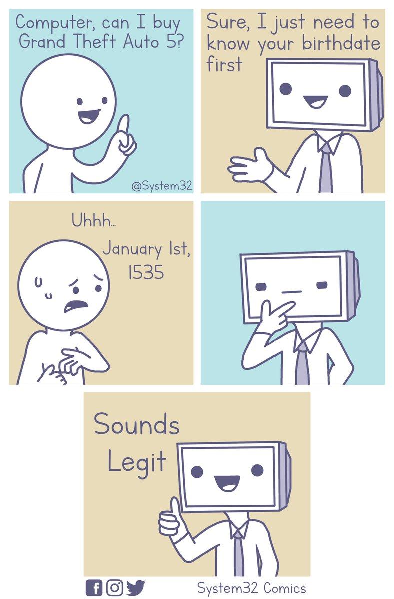 System32 Comics on Twitter:
