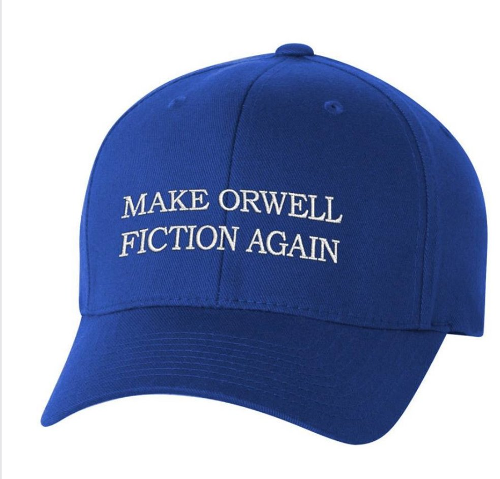 Make Orwell Fiction Again https://t.co/RfPuf75upc