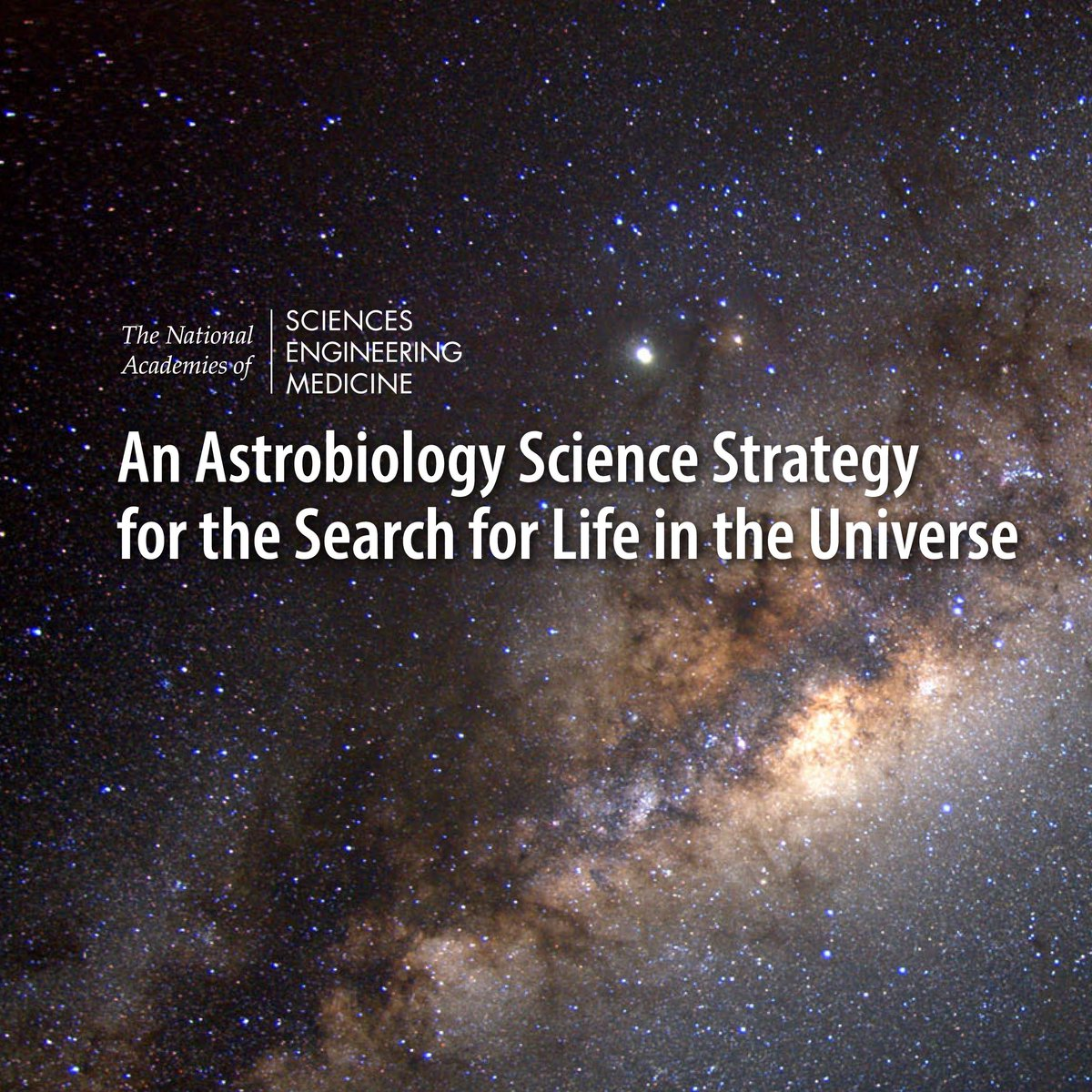 #Astrobiology, the study of the origin, evolution, & future of life in the , is#universe a rapidly changing field. Our report says that  sho@NASAuld ramp up efforts in developing mission-ready life detection technologies to advance the : #searchforlifehttps://t.co/UzBmFQW1io